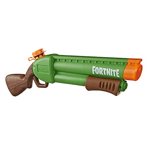 SUPERSOAKER Nerf Super Soaker Fortnite Pump-SG Water Blaster -- Pump-Action Soakage -- for Youth, Teens, Adults