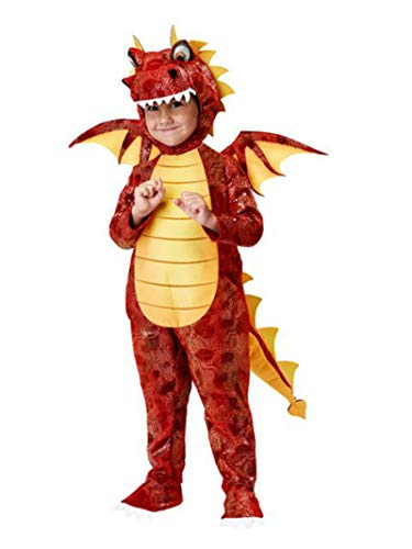 California Costumes Fire Breathing Dragon Toddler Costume, 4-6