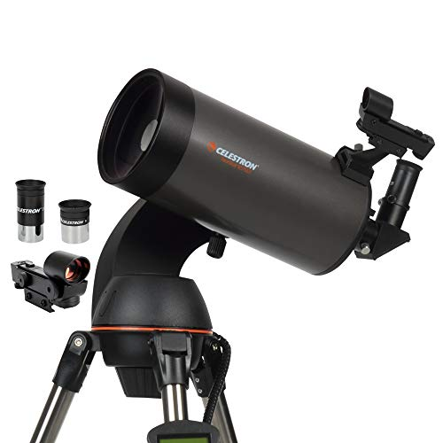 Celestron - NexStar 127SLT Computerized Telescope - Compact and Portable - Maksutov-Cassegrain Optical Design - SkyAlign Technology - Computerized Hand Control - 127mm Aperture