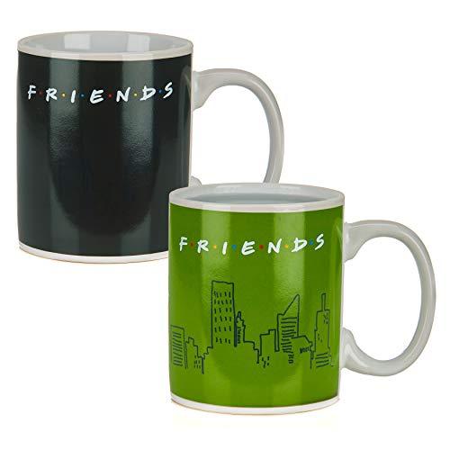 Friends TV Show'How U Doin?' Heat Change Coffee Mug