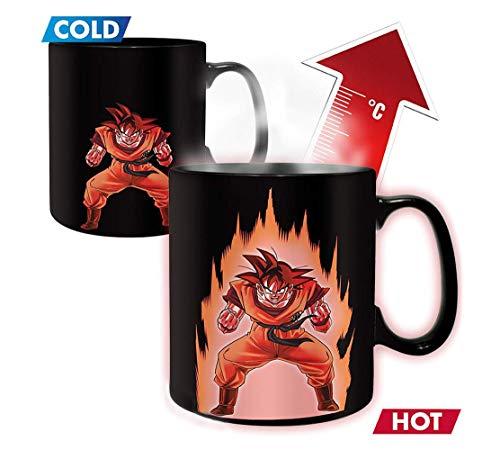 Dragon Ball Z Goku Heat Color Change Reactive Coffee Mug