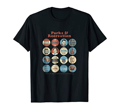 Parks and Recreation Quote Mash-Up Standard T-Shirt