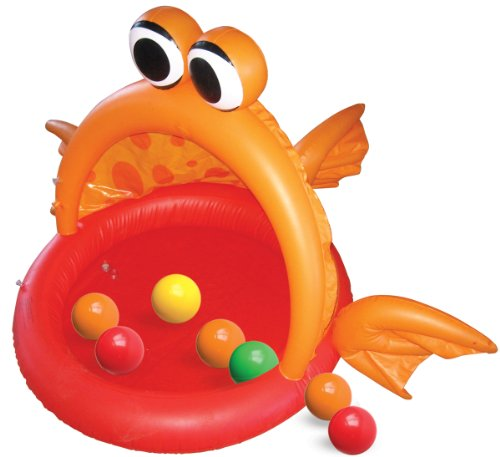 Hedstrom Fish Inflatable Ball Pit