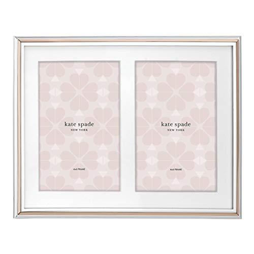Kate Spade New York KS Rosy Glow frame, Double Invitation Frame