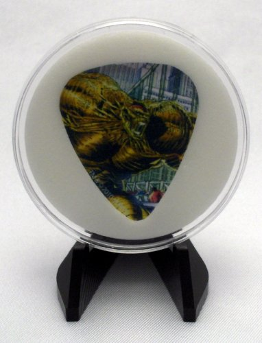 Marvel Universe Villain Abomination Guitar Pick With Display Case & Easel - 100% MADE IN USA!