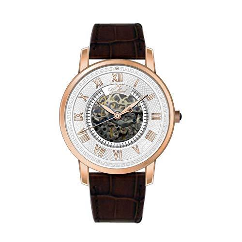 Gallucci Men's Vintage Skeleton Watch