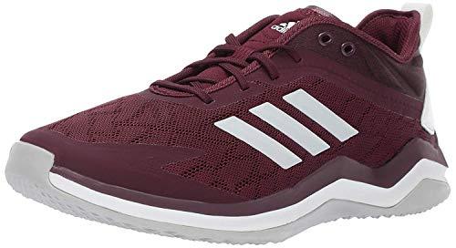 adidas Men's Speed Trainer 4, Maroon/Crystal White/Black, 14 M US