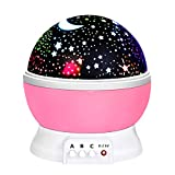ATOPDREAM Birthday Gifts Presents for 2-10 Year Old Girls, Wonderful Romantic Starlight for Kids Toys for 2-10 Year Old Boys Xmas Gifts for 2-10 Year Old Boys Pink TSUKXK03
