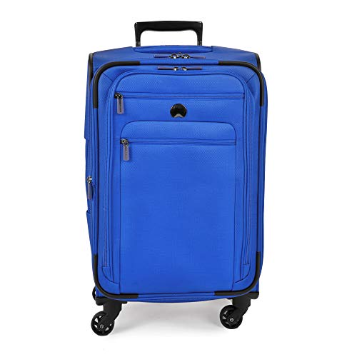 Delsey Luggage Helium Sky 2.0 21' Carry-On Expandable Spinner Trolley (Blue)