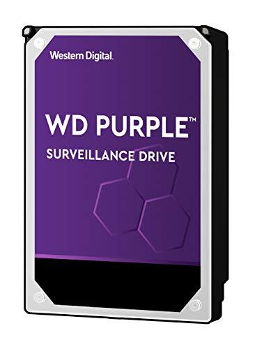 WD Purple 2TB Surveillance Hard Drive - 5400 RPM Class, SATA 6 Gb/s, 64 MB Cache, 3.5' - WD20PURZ
