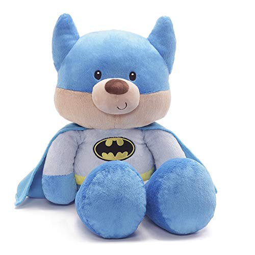 GUND Jumbo Fuzzy Blue Batman Plush Stuffed Bear 25'