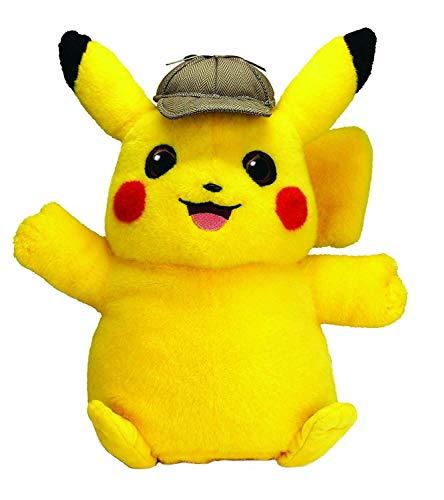 BOTI Pokémon: Detective Pikachu Talking Plush Figure Pikachu 35 cmEnglish Version