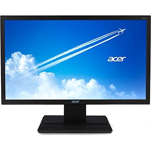 Acer V246HQL 23.6' Full HD LED LCD Monitor - 16:9 - Black - Vertical Alignment (VA) - 1920 x 1080-16.7 Million Colors - 250 Nit - 5 ms GTG - 60 Hz Refresh Rate - HDMI - VGA
