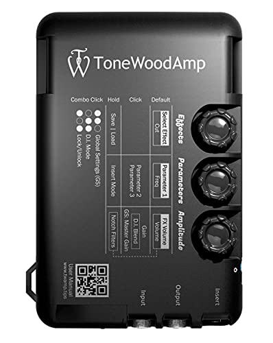 ToneWoodAmp SOLO Acoustic-Electric Pre Amp/Multi-Effect Processor