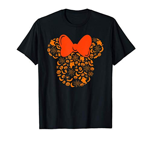 Disney Minnie Mouse Halloween Silhouette Icon T-Shirt