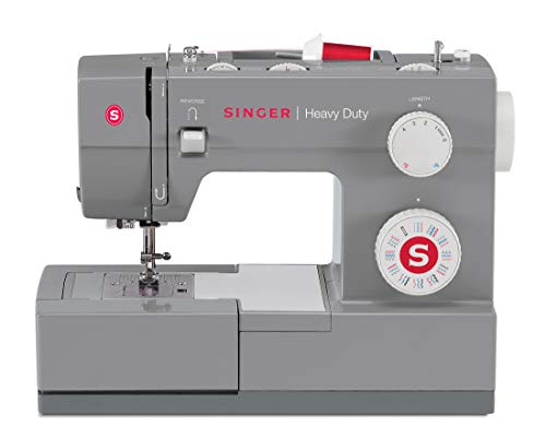 SINGER Heavy Duty 4432 Sewing Machine, 18 lbs, Gray
