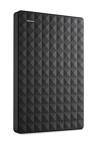 Seagate Expansion Portable 2TB External Hard Drive HDD – USB 3.0 for PC Laptop (STEA2000400) , black