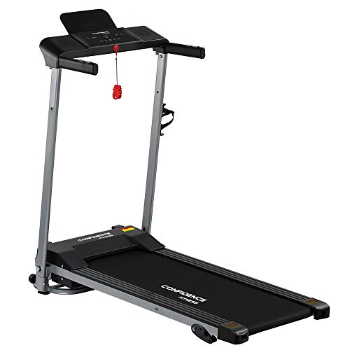 Confidence Fitness Ultra Pro Treadmill Electric Motorized Running Machine Silver/Black