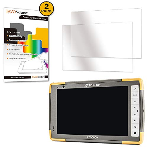 Topcon FC-5000, JAVOScreen [Anti-Glare, Ultra Clear] Screen Protector (2 Pack), Defensive Armor from Scratches (Ultra Clear)