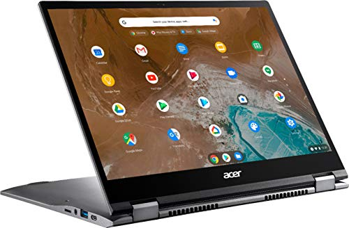 Acer - Chromebook Spin 713 2-in-1 13.5' 2K VertiView 3:2 Touch - Intel i5-10210U - 8GB Memory - 128GB SSD – Steel Gray