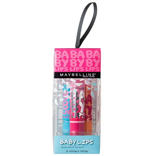 Maybelline Baby Lips Trio - Quenched, Cherry Me and My Pink