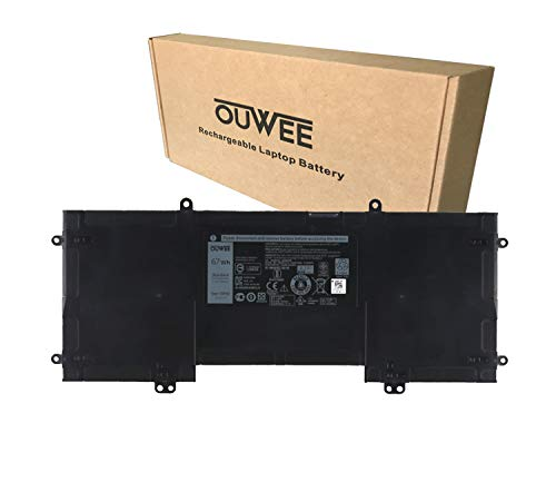 OUWEE X3PH0 Laptop Battery Compatible with Dell Chromebook 13 7310 Series Notebook 92YR1 MJFM6 X3PHO 092YR1 0MJFM6 0X3PH0 11.4V 67Wh 5583mAh 6-Cell