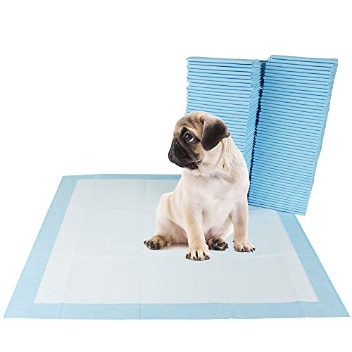 BV Pet Potty Training Pads for Dogs, Puppy Training Pads, 22' x 22', 100-Count