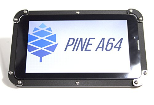 Pine 64 - LCD Screen Case (Black Ice) ~ by C4Labs
