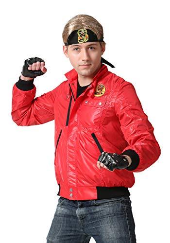 Karate Kid Adult Red Cobra Kai Jacket Costume X-Large