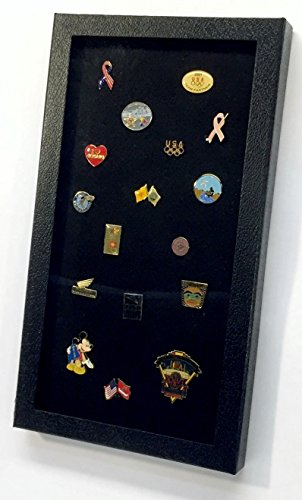 Hobbymaster Pin Collector's Display Case for Disney, Hard Rock, Olympic & Other Collectible pins and Medals, Holds up to 100 pins