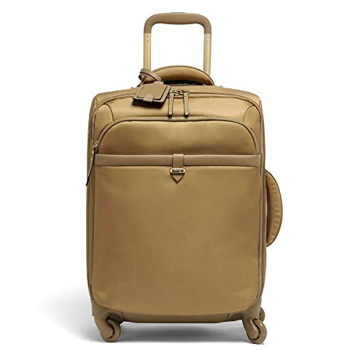 Lipault - Plume Avenue Spinner 55/20 Luggage - 22' Carry-On Rolling Bag for Women - Camel