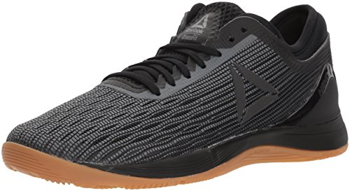 Reebok Women's Crossfit Nano 8.0 Flexweave Workout Joggers, black/alloy/gum, 7.5 M US