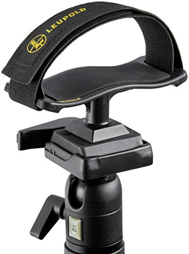 Leupold Binocular Tripod Adapter Tray, Black, Mount: 1/4-20