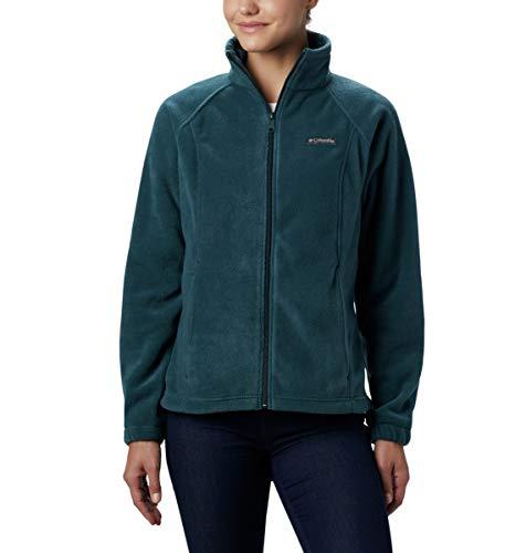 Columbia womens Benton Springs Fleece Jacket, Dark Seas, Medium US