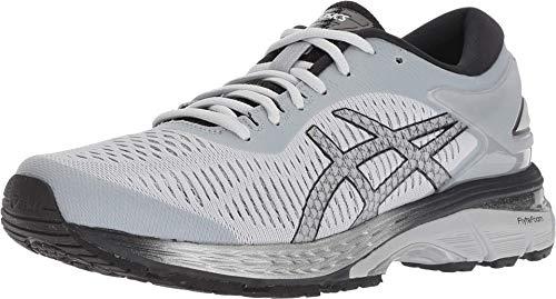 ASICS Women's Gel-Kayano 25 Running Shoes, 7.5M, MID Grey/Silver