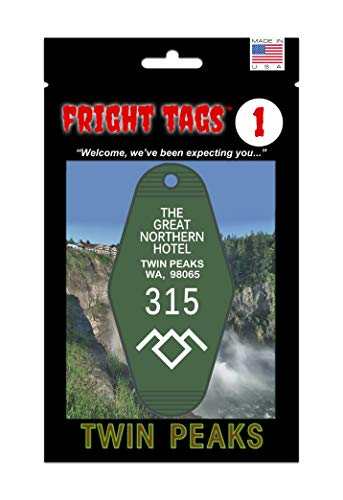 Twin Peaks Fright Tags # 1 - The Great Northern Hotel #315 Key Tag