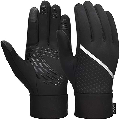 Touch Screen Gloves Anti-slip Running Cycling Gloves Sports Gloves Winter Gloves for Men Women…