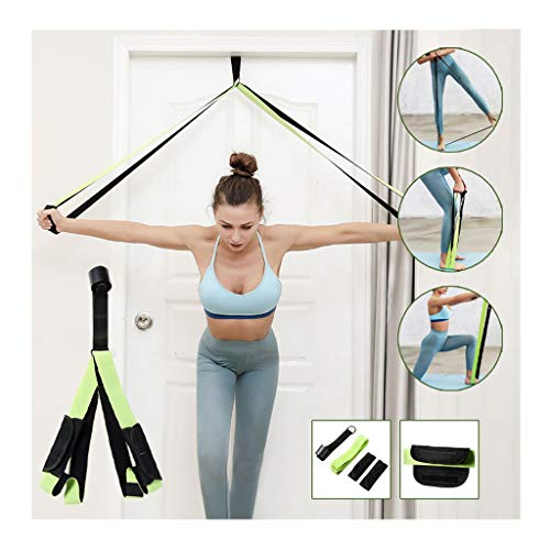 Iusun Fitness Resistance Bands Exercise Workout Bands Elastic Pull String Sport Assist Trainer Loop Exercise for Gym Fitness, Pilates, Training, Rehab, Yoga