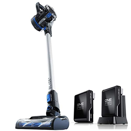 Hoover ONEPWR Blade+ Cordless Stick Vacuum Cleaner with Extra Battery, Lightweight, BH53310E, Silver
