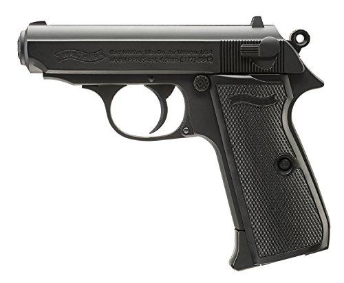 Umarex Walther Legends PPK/S .177 Caliber BB Gun Air Pistol, Black (2230163)