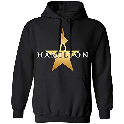 Hamilton an American Musical Shirt, Hamilton Shirt, Alexander Hamilton Shirt - Hoodie (Hoodie;Purple;L) (Black, Large)