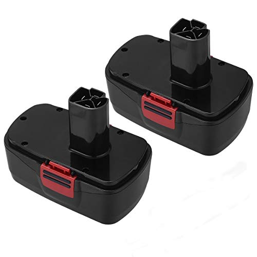 Powerextra 2 Pack 3.7Ah 19.2V Craftsman Replacement Battery Compatible with Craftsman DieHard C3, 130279005, 11375, 11376, 11045, 1323903, 315.115410, 315.11485, 315.114850, 315.114852