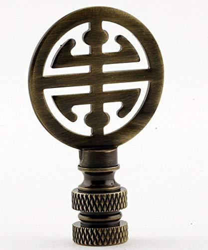Antique Brass Asian Classic Finial
