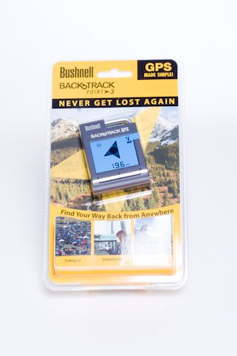 Bushnell Backtrack Point-3 Personal GPS Locator (Gray)