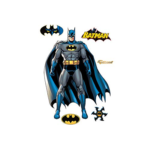 FATHEAD Batman: Full Throttle-Life-Size Officially Licensed DC Removable Wall Decal
