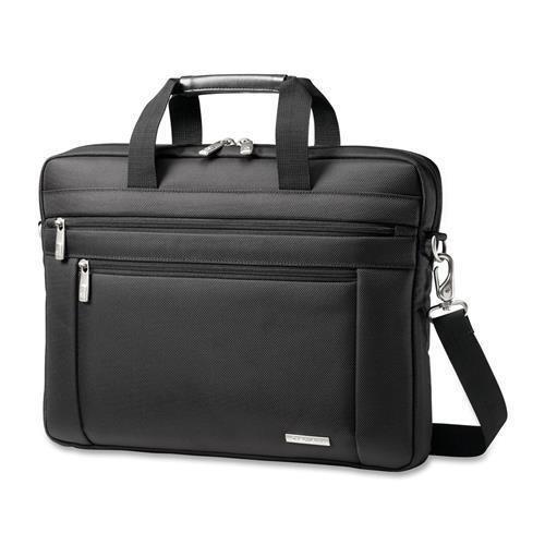 43271-1041 Samsonite Classic Carrying Case for 15.6' Notebook - Black - Ballistic Nylon - Handle, Shoulder Strap