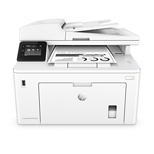 HP LaserJet Pro M227fdw All-in-One Wireless Laser Printer, Works with Alexa (G3Q75A). Replaces HP M225dw Laser Printer,White,Large