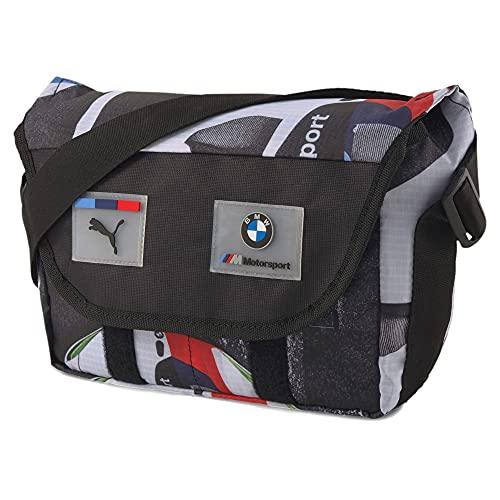 PUMA x BMW M Motorsport Street Mini Messenger Sling Shoulder Pack Bag