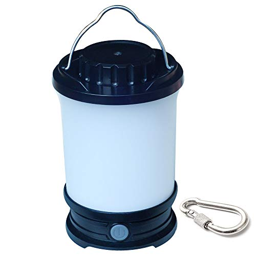 SWEETIME Camping Lanterns Light Battery Powered LED Rechargeable, 650 Lumens Tent Lights with 5600mah Battery,Portable Camping Lantern Adjustable Brightness for Hurricane,Backpacking,Emergency.