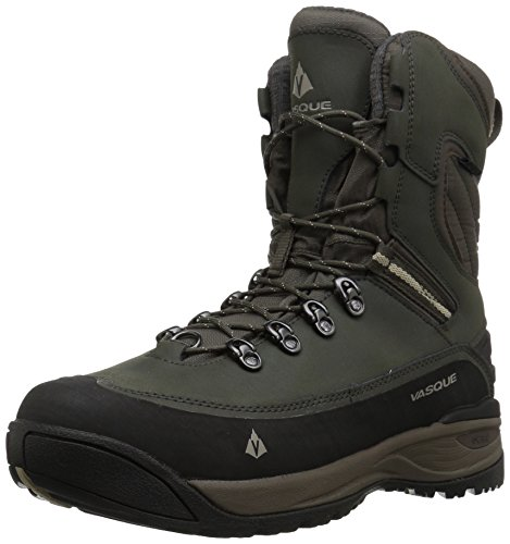 Vasque mens Snowburban Ii Ultradry Snow Boot, Brown Olive/Aluminum, 9.5 US